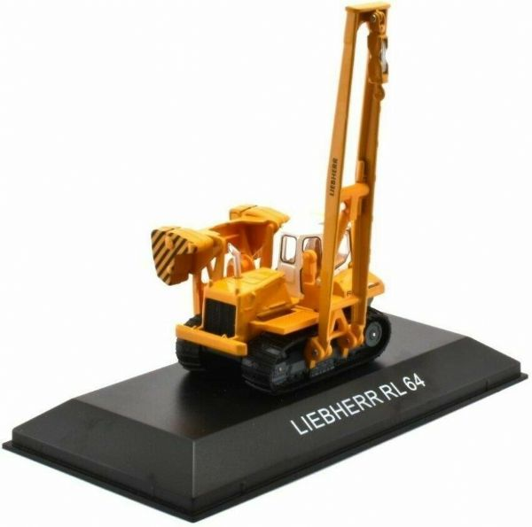 Atlas 1:87th HO Constrution BL63 Liebherr RL64 Crane with moving parts